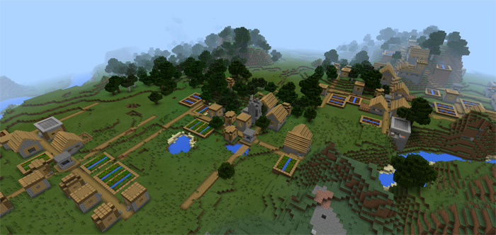 Five Villages At Spawn